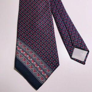 YSL Yves Saint Laurent 100% Silk Tie